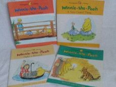 Adorable Set of 4 'Winnie the Pooh' Hunnypot Library Picture Story Books